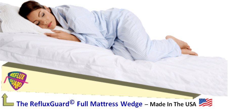 mattress bed wedge for acid reflux treatments
