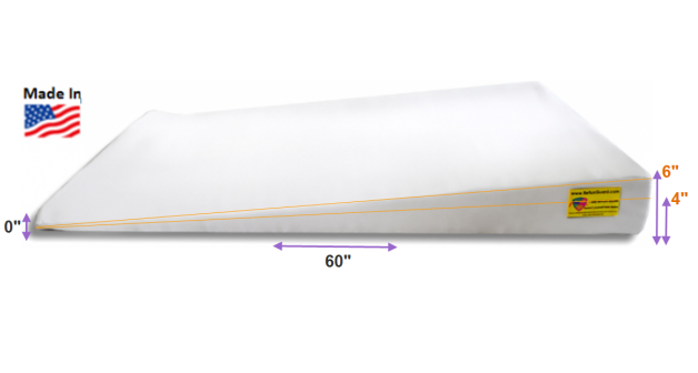KING Size Bed Wedge