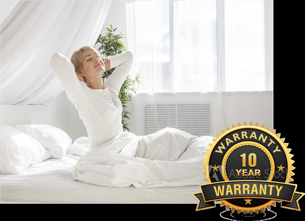 warranty of Acid-Reflux-Under-Mattress-Bed-Wedge